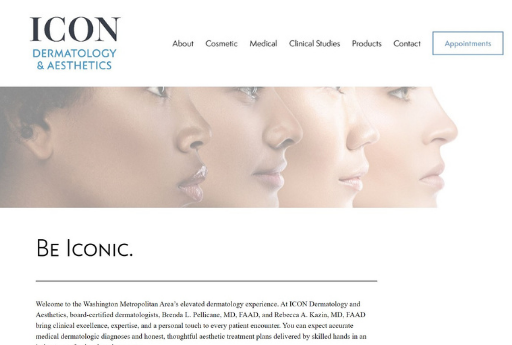 icon dermatology aesthetics