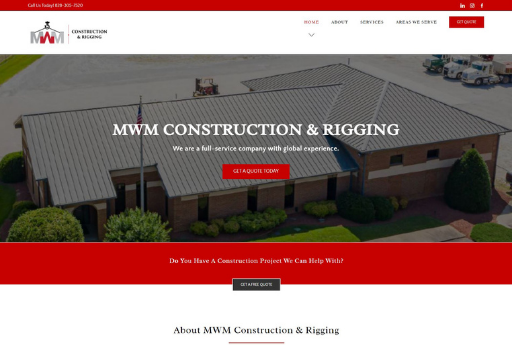 mwm construction and rigging